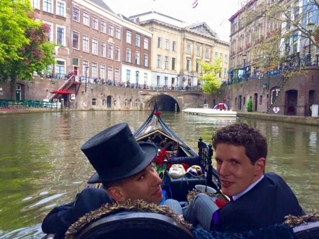 Gondelier Utrecht gay huwelijk go with the vlo