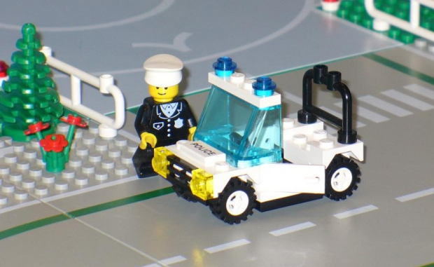 LEGO politie go with the vlo