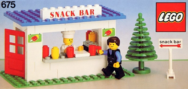 LEGO snackbar go with the vlo