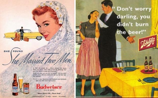 Seksistische reclames bier go with the vlo