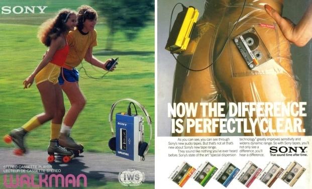 Cassettebandjes Walkman eighties go with the vlo