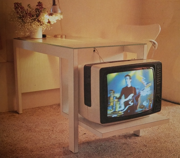 Eighties klussen televisie go with the vlo