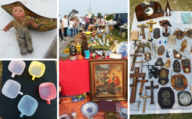Kofferbakmarkt Hoek van Holland strand go with the vlo