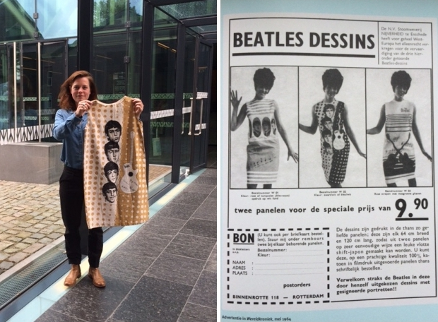 Beatles TextielMuseum go with the vlo