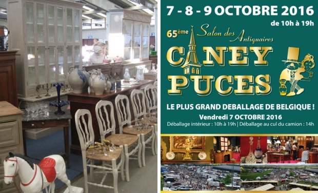 Caney Puces België vlooienmarkt go with the vlo