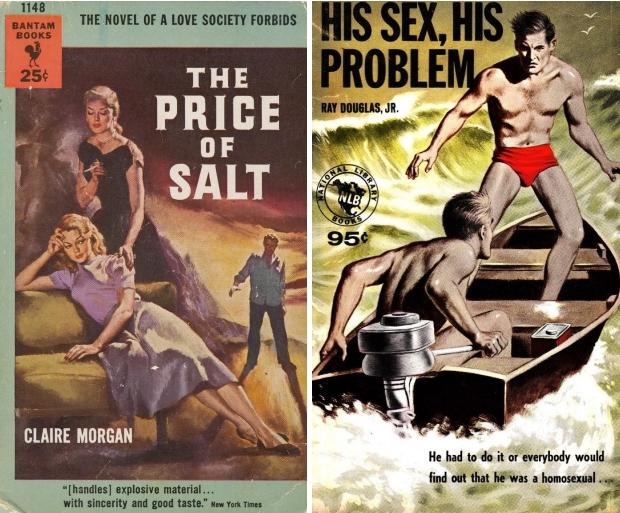 Gay pulp Claire Morgan homo go with the vlo