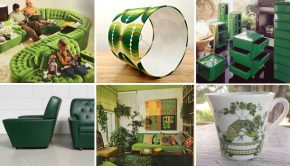 Groen interieur vintage seventies go with the vlo 2
