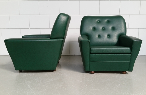 Groene bank seventies vintrodesign go with the vlo