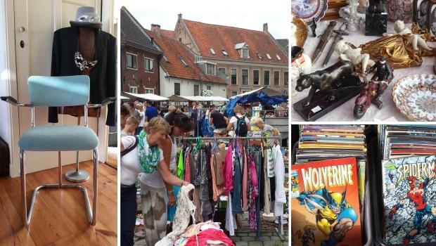 Hattem vlooienmarkt Gispen go with the vlo