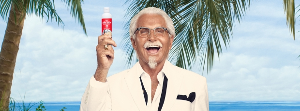 Kentucky Fried Chicken George Hamilton go with the vlo