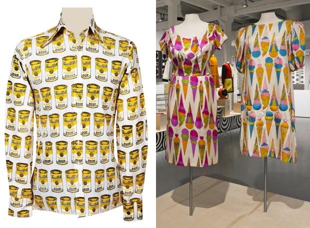 Pop Art Andy Warhol jurken go with the vlo