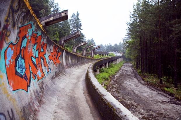 Sarajevo bobsleebaan 1984 go with the vlo