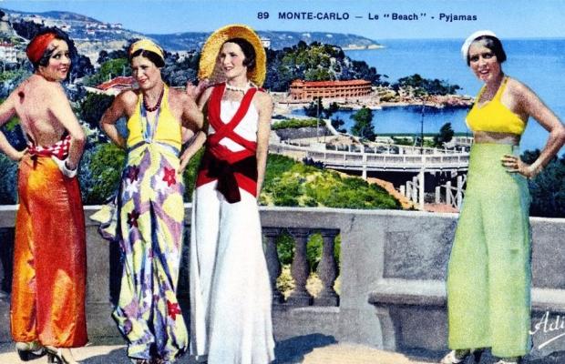 Strandpyjama Monte Carlo go with the vlo