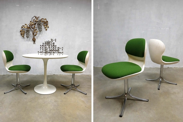 Swivel chairs seventies go with the vlo