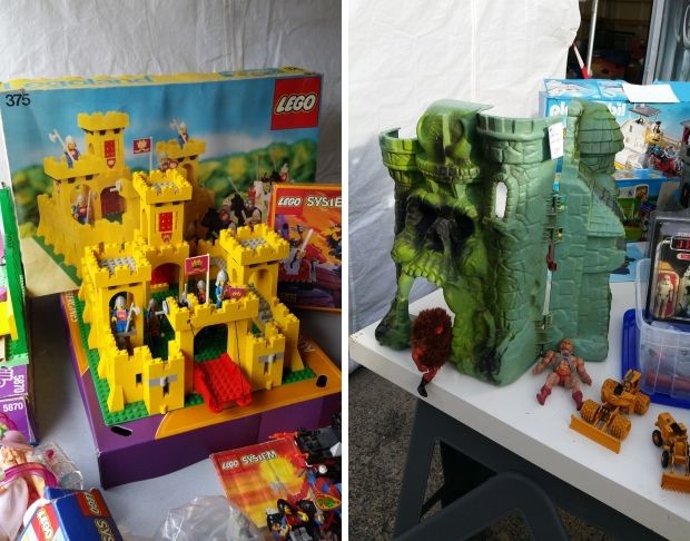 Temploux He-man LEGO antiekmarkt go with the vlo