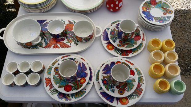 Temploux retro servies go with the vlo