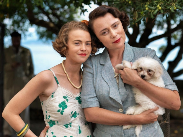 The Durrells hondje Corfu go with the vlo