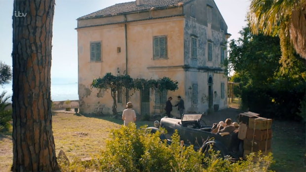 The Durrells huis Corfu go with the vlo