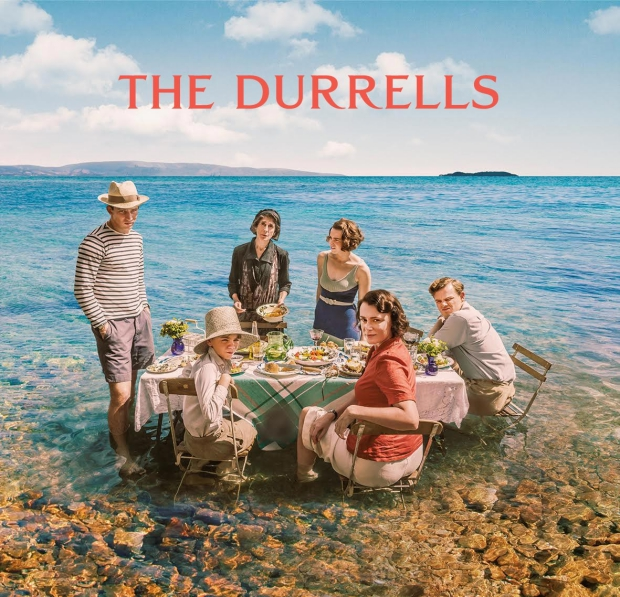 The Durrells serie Corfu go with the vlo