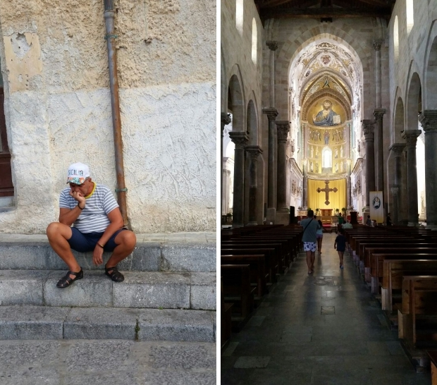 Cefalu kerk slapen go with the vlo