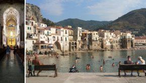 Een nostalgische plons in de zee bij Cefalù
