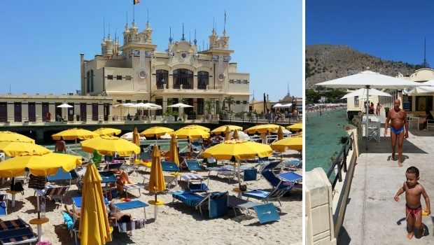 Mondello badhuis pier Sicilie go with the vlo