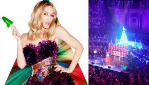 Een hysterische kitschkerst met Kylie Minogue