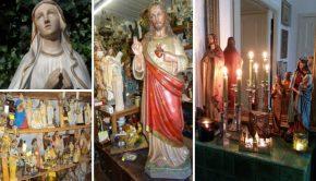 Elizabeth Maria: heiligdom voor beeldengekken