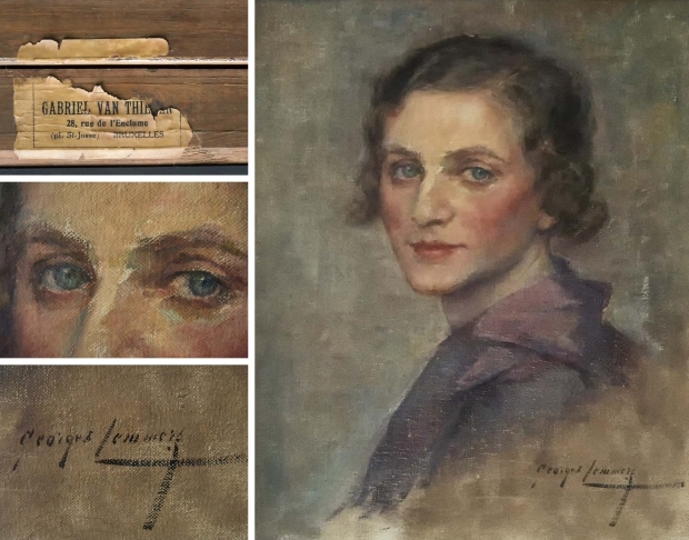schilderij-dame-brussel-go-with-the-vlo