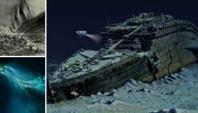 Maak een duik naar het wrak van de Titanic