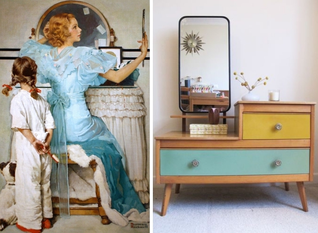 kaptafel-vrouw-vintage-sixties-go-with-the-vlo