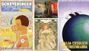 1.067 vintage posters om je vingers bij af te likken