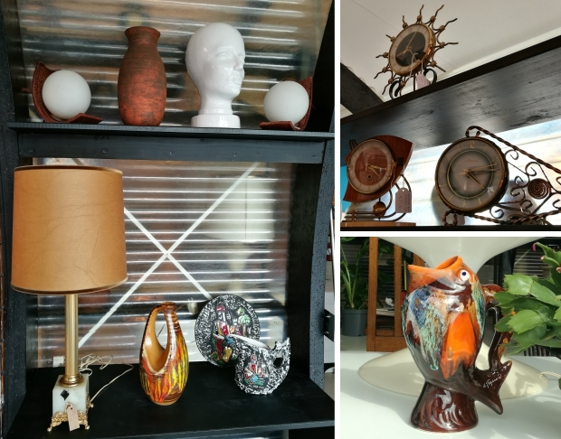OKER Vintage Interior Eindhoven klokken vis go with the vlo