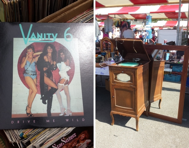 Rommelmarkt Vanity 6 Drive me wild plaat go with the vlo