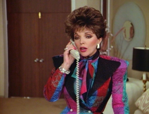 Alexis Carrington Colby mantelpakje eighties go with the vlo