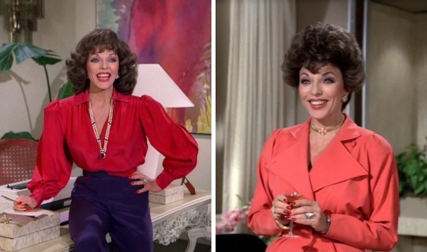 Alexis Carrington Colby mode Dynasty go with the vlo