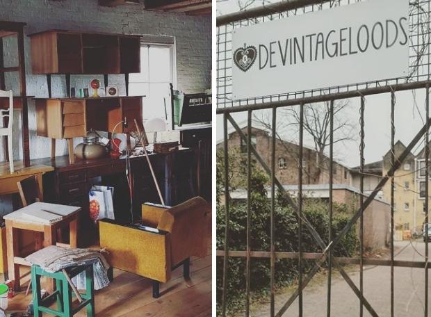 De Vintageloods Schiedam meubels go with the vlo