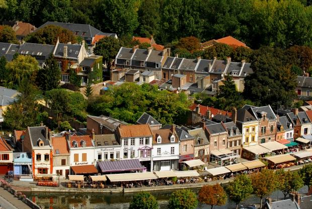 Grande Rederie Amiens vlooienmarkt terrassen go with the vlo