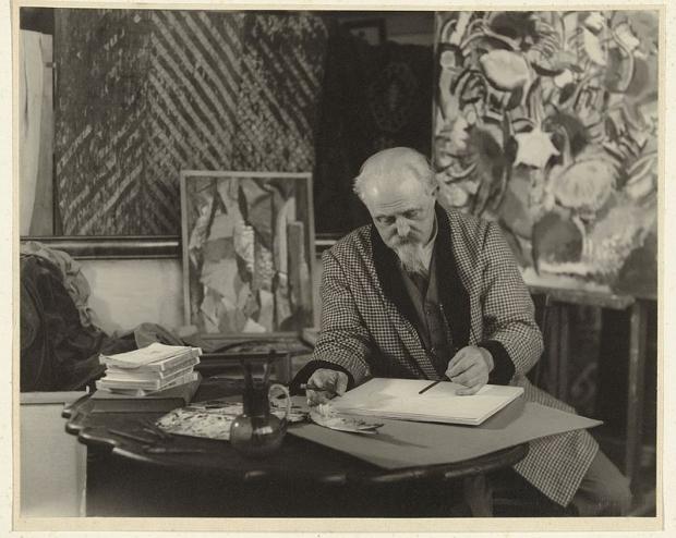 Jan Sluijters schilder atelier jaren dertig go with the vlo