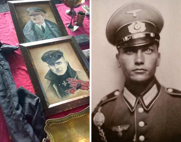 Nazi memorabilia vlooienmarkt rommelmarkt go with the vlo