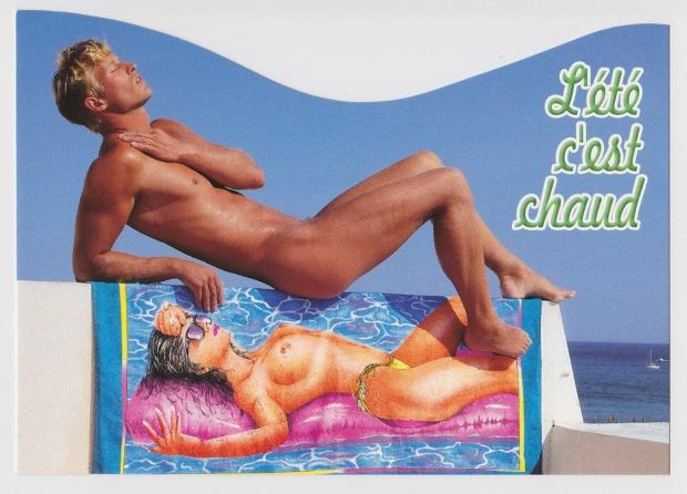 Sexy ansichtkaarten heet jaren tachtig go with the vlo