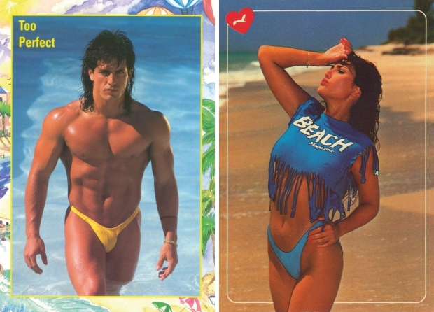 Sexy ansichtkaarten jaren tachtig go with the vlo