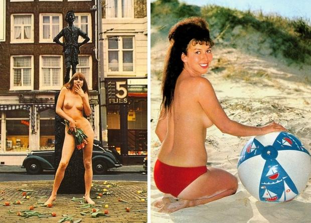 Sexy ansichtkaarten Nederland go with the vlo