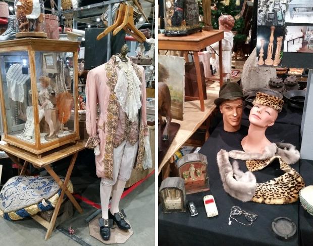 VerzamelaarsJaarbeurs brocante vintage kleding go with the vlo