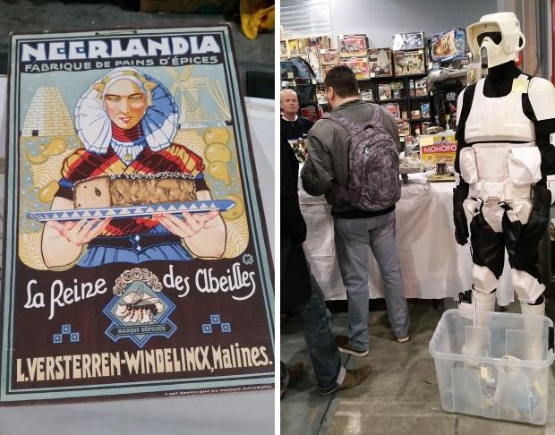 VerzamelaarsJaarbeurs Utrecht affiche sci-fi go with the vlo