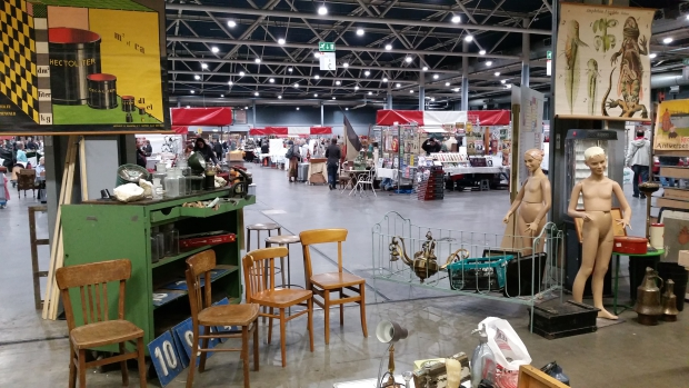 VerzamelaarsJaarbeurs Utrecht industrieel vintage go with the vlo