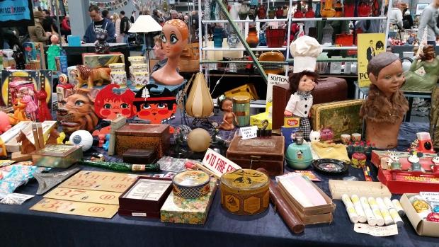 VerzamelaarsJaarbeurs Utrecht vintage spullen go with the vlo
