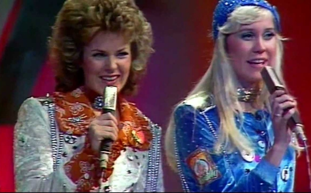 ABBA Eurovisie Songfestival 1974 go with the vlo