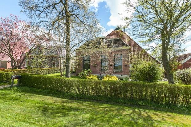 Akmarijp boerderij Friesland voorzijde go with the vlo