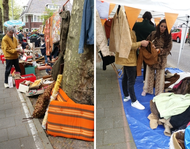 Apollolaan vrijmarkt 2018 kleding Amsterdam go with the vlo